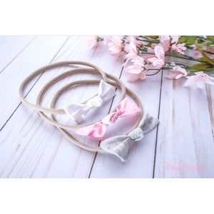 Other - Baby Girl Nylon Headband Bow Head Accesories